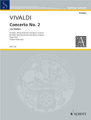 Concerto Pour Flûte F.6 N°13 En Sol Min. - Conducteur - laflutedepan.com