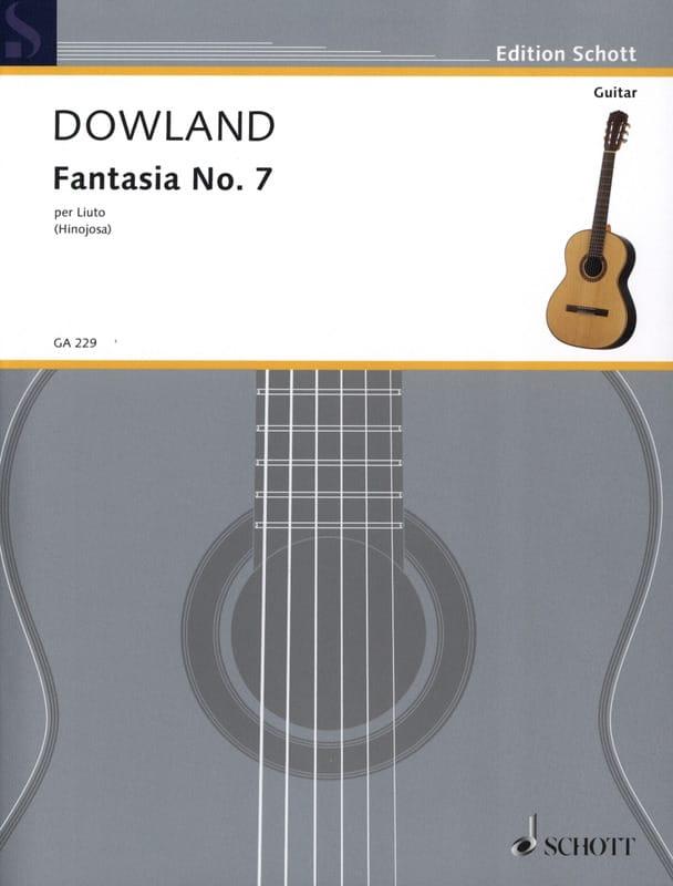 John Dowland - Fantasia Nr. 7 - Gitarre - Partition - di-arezzo.com