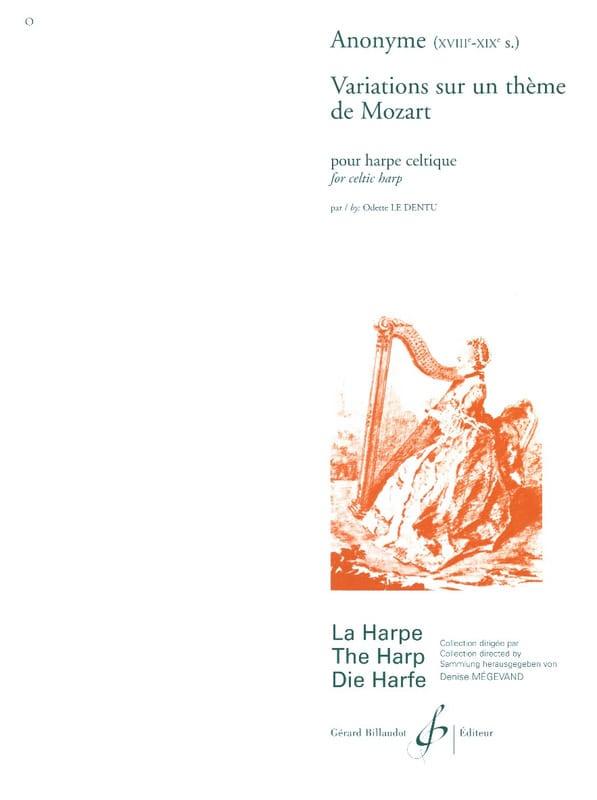- Variations sur un Thème de Mozart - Partition - di-arezzo.fr