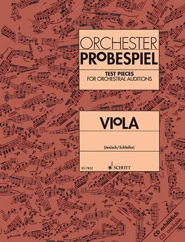 Orchester-Probespiel - Viola - laflutedepan.com
