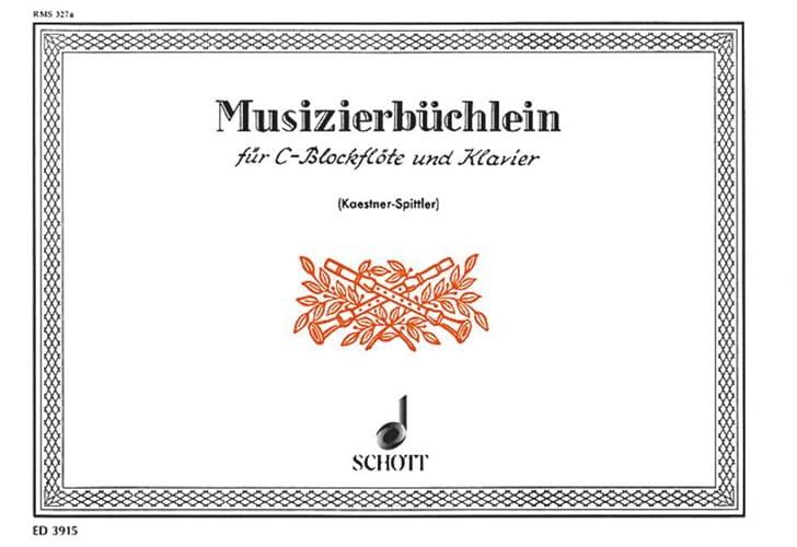 Musizierbüchlein, Bd. 1 - Partition - laflutedepan.com
