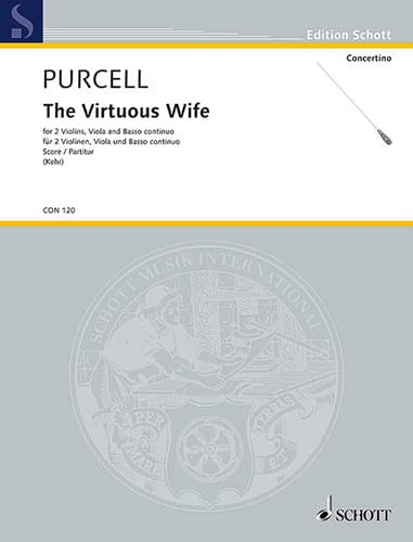 Henry Purcell - The Virtuous Wife - Score - Partition - di-arezzo.co.uk