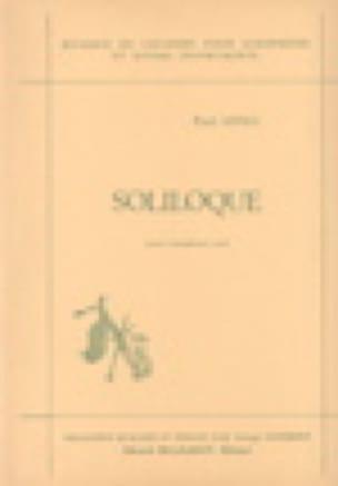 Soliloque - Paul Arma - Partition - Hautbois - laflutedepan.com