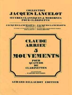 5 Mouvements - Parties et Conducteur - laflutedepan.com