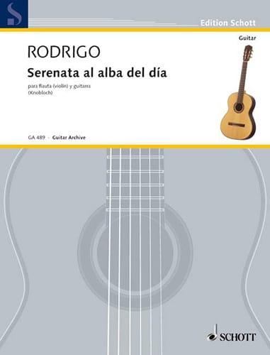 Serenata al alba del dia - flauta violin y guitarra - laflutedepan.com
