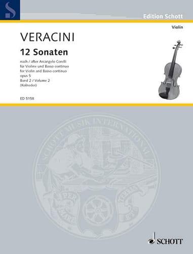 12 Sonaten nach Corelli op. 5, Bd. 2 - laflutedepan.com