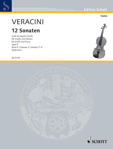 12 Sonaten nach Corelli op. 5, Bd. 3 - laflutedepan.com