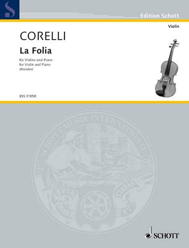 CORELLI - The Folia Kreisler - Partition - di-arezzo.co.uk