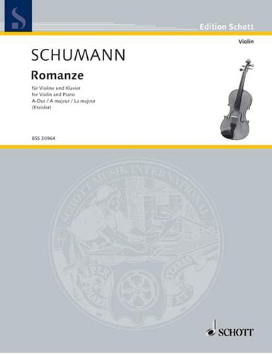 SCHUMANN - Romanze A-Dur - Partition - di-arezzo.co.uk