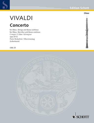 Concerto C-Dur op. 8/12 (RV 449-Oboe Klavier - laflutedepan.com