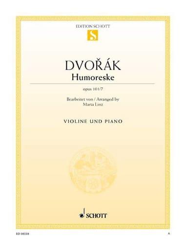 DVORAK - Humoreske op. 101 n° 7 - Partition - di-arezzo.fr