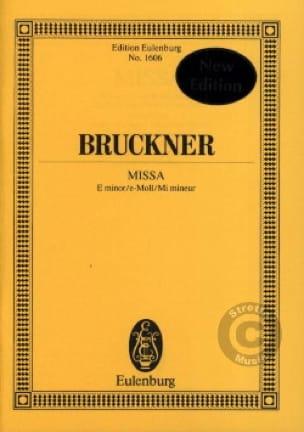 Missa - BRUCKNER - Partition - Petit format - laflutedepan.com