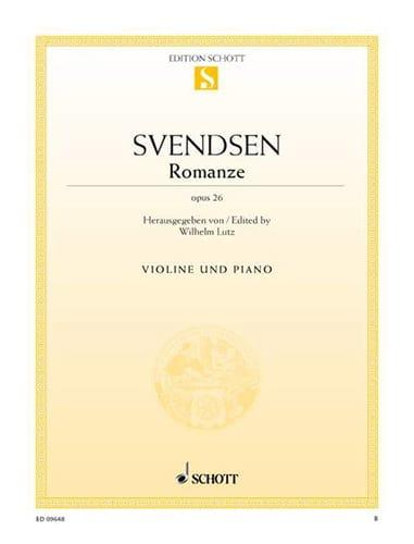 Johan Severin Svendsen - Romanze op. 26 - Partition - di-arezzo.co.uk