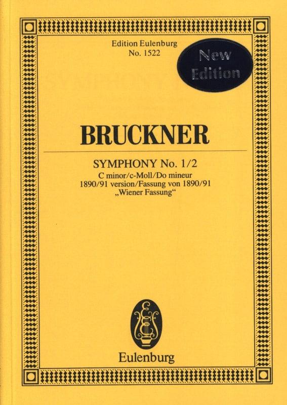 Sinfonie Nr. 1/2 - BRUCKNER - Partition - laflutedepan.com