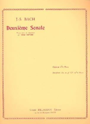 2e Sonate - Clarinette et piano - BACH - Partition - laflutedepan.com