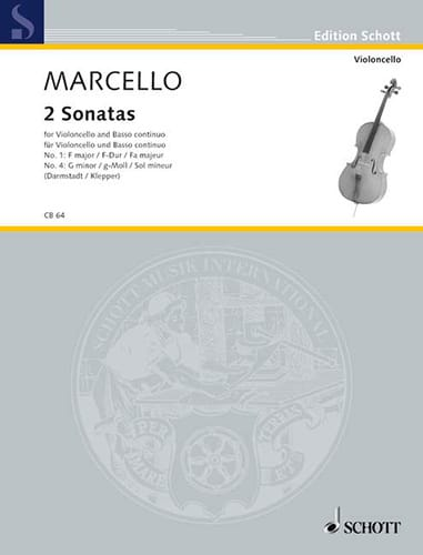 Benedetto Marcello - 2 Sonata in F Major / G minor - Partition - di-arezzo.co.uk