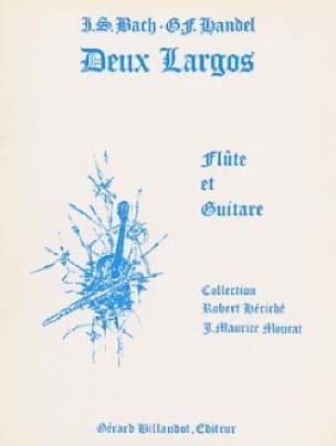 Deux Largos - Flûte guitare - BACH / HAENDEL - laflutedepan.com