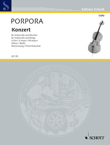 Konzert G-Dur - Violoncello - laflutedepan.com