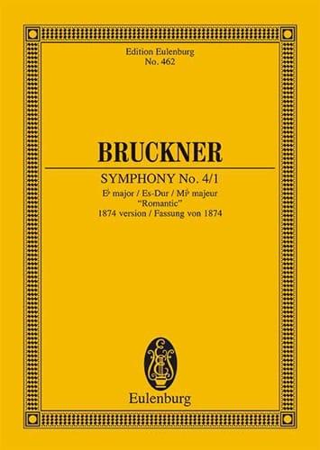 Anton Bruckner - Sinfonie Nr. 4 Es-Dur - Partition - di-arezzo.co.uk