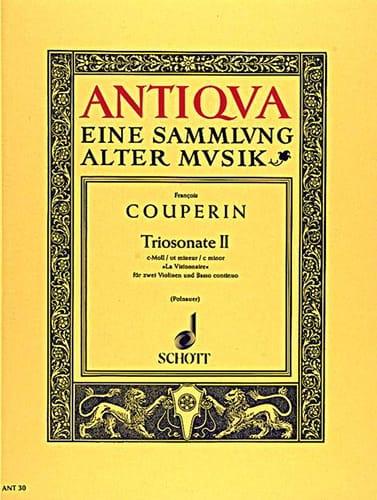 François Couperin - Triosonate Nr. 2 c-moll - The Visionary - 2 Violinen u. Bc - Partition - di-arezzo.co.uk