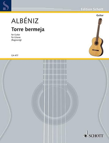 Torre Bermeja op. 92 n° 12 - ALBENIZ - Partition - laflutedepan.com