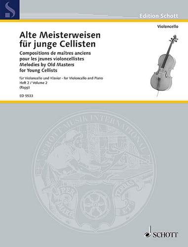Alte Meisterweisen für junge Cellisten Bd. 2 - laflutedepan.com