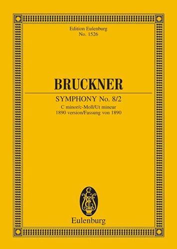 Symphonie N° 8 2 - C-Moll - BRUCKNER - Partition - laflutedepan.com