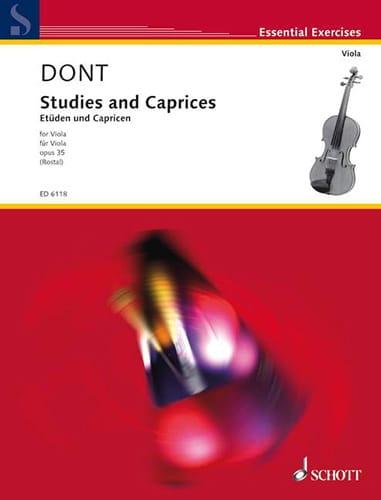 Studies and Caprices op. 35 - Viola Rostal - laflutedepan.com