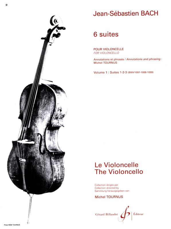 BACH - 6 Suite Volume 1 - Suite 1 a 3 - Partition - di-arezzo.it