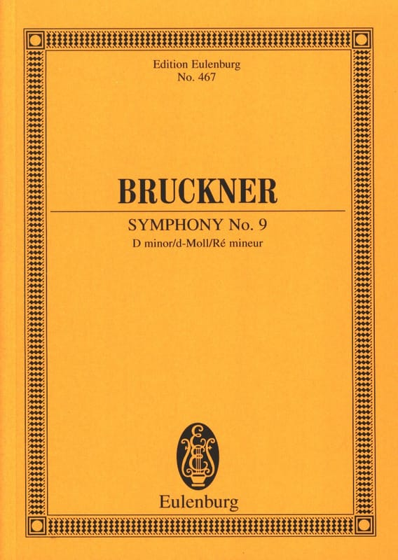 Anton Bruckner - Sinfonie Nr. 9 d-Moll - Partition - di-arezzo.co.uk
