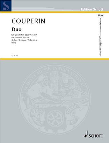 Duo G-Dur -2 Flöten o Violinen - COUPERIN - laflutedepan.com