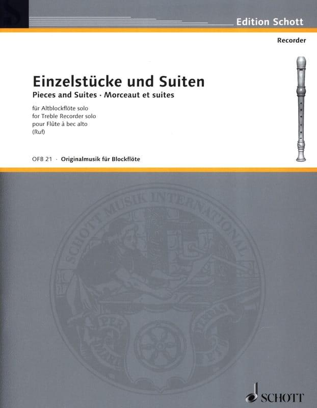 - Einzelstücke und Suiten - Altblockflöte Solo - Partition - di-arezzo.es