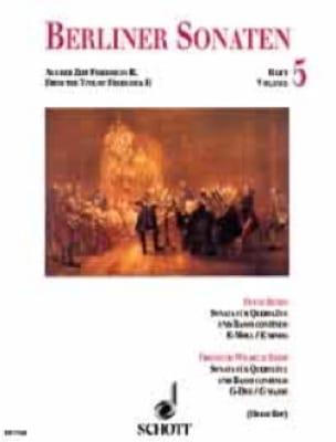 Berliner Sonaten - Heft 5 - laflutedepan.com