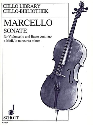 Benedetto Marcello - Sonata the Minor - Partition - di-arezzo.co.uk