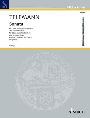 Sonate Es-Dur - TELEMANN - Partition - Trios - laflutedepan.com