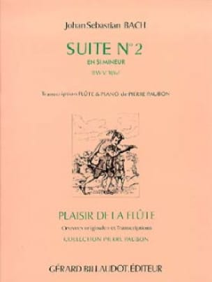 Suite n°2 en si min. BWV 1067 - Flûte piano - BACH - laflutedepan.com