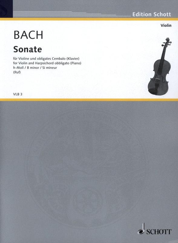 Sonate h-Moll Wq 76 für Violine und obligates Cembalo - laflutedepan.com