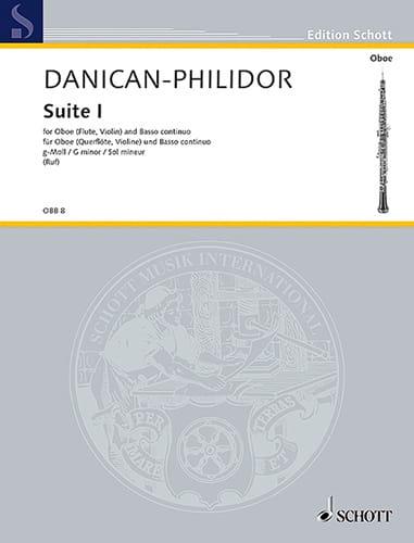 Suite Nr. 1 G-Moll - Hautbois Flûte, Violon et B. C. - laflutedepan.com