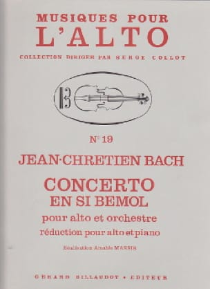 Johann Christian Bach - Concerto in B flat - Partition - di-arezzo.co.uk
