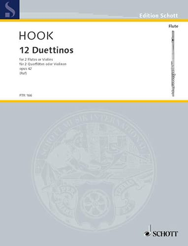 12 Duettinos op. 42 - 2 Flöten o. Violinen - laflutedepan.com