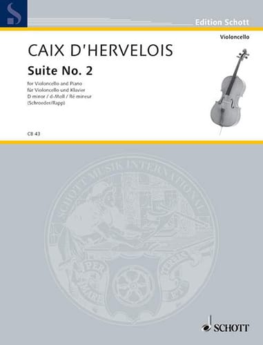 d'Hervelois Louis de Caix - Suite n ° 2 d minor - Partition - di-arezzo.com