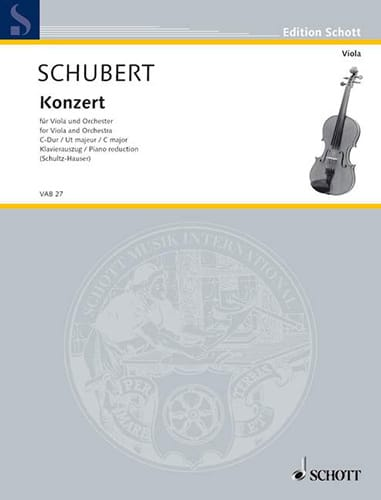 Konzert C-Dur für Viola - Viola Klavier - laflutedepan.com