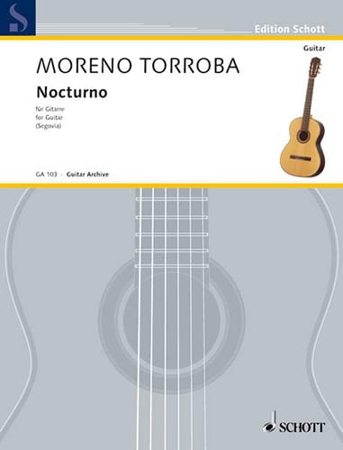 Nocturno - Federico Moreno-Torroba - Partition - laflutedepan.com