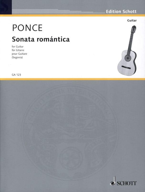 Manuel Maria Ponce - Romantica Sonata - Partition - di-arezzo.co.uk