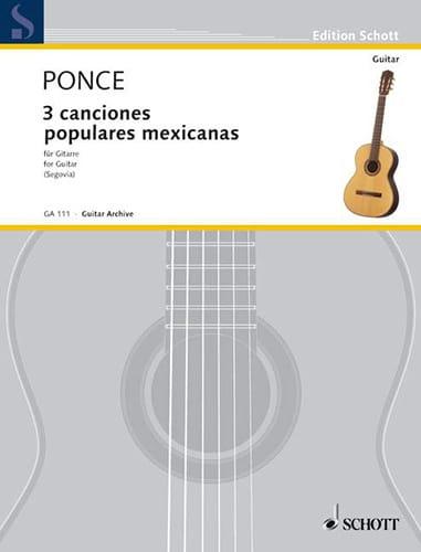 3 Canciones populares mexicanas - laflutedepan.com