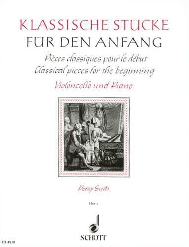 Klassische Stücke für den Anfang, Bd 1 - Percy Such - laflutedepan.com