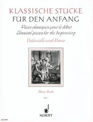 Klassische Stücke für den Anfang, Bd 2 - Percy Such - laflutedepan.com