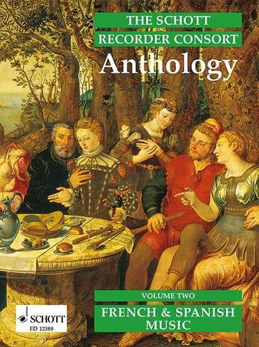 - La grabadora Schott Consort Anthology, Bd 2 - Partition - di-arezzo.es