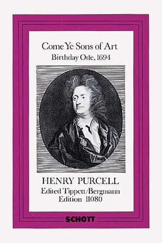 Henry Purcell - Come Ye Sons of Art 1694 - Score - Partition - di-arezzo.co.uk