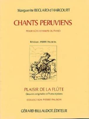 Chants péruviens - d' Harcourt Marguerite Béclard - laflutedepan.com